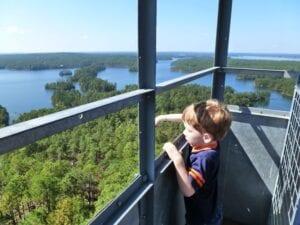 Smith Mountain - Tower - Child