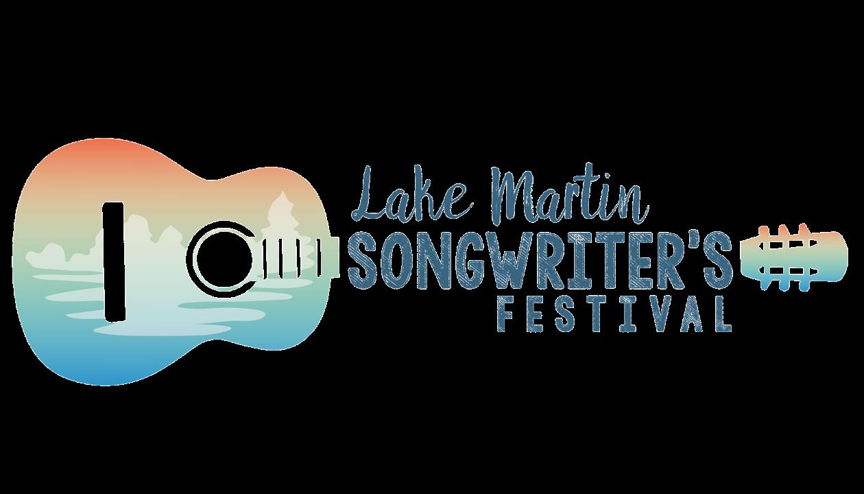 Lake Martin Songwriters Festival Logo - Tallapoosa County Tourism