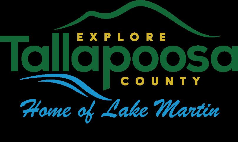 Logo - Tallapoosa Co Tourism - w Home of Lake Martin