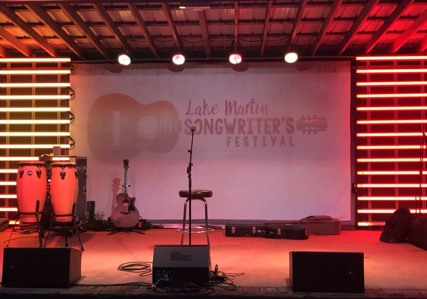 Lake Martin Songwriters Schedule